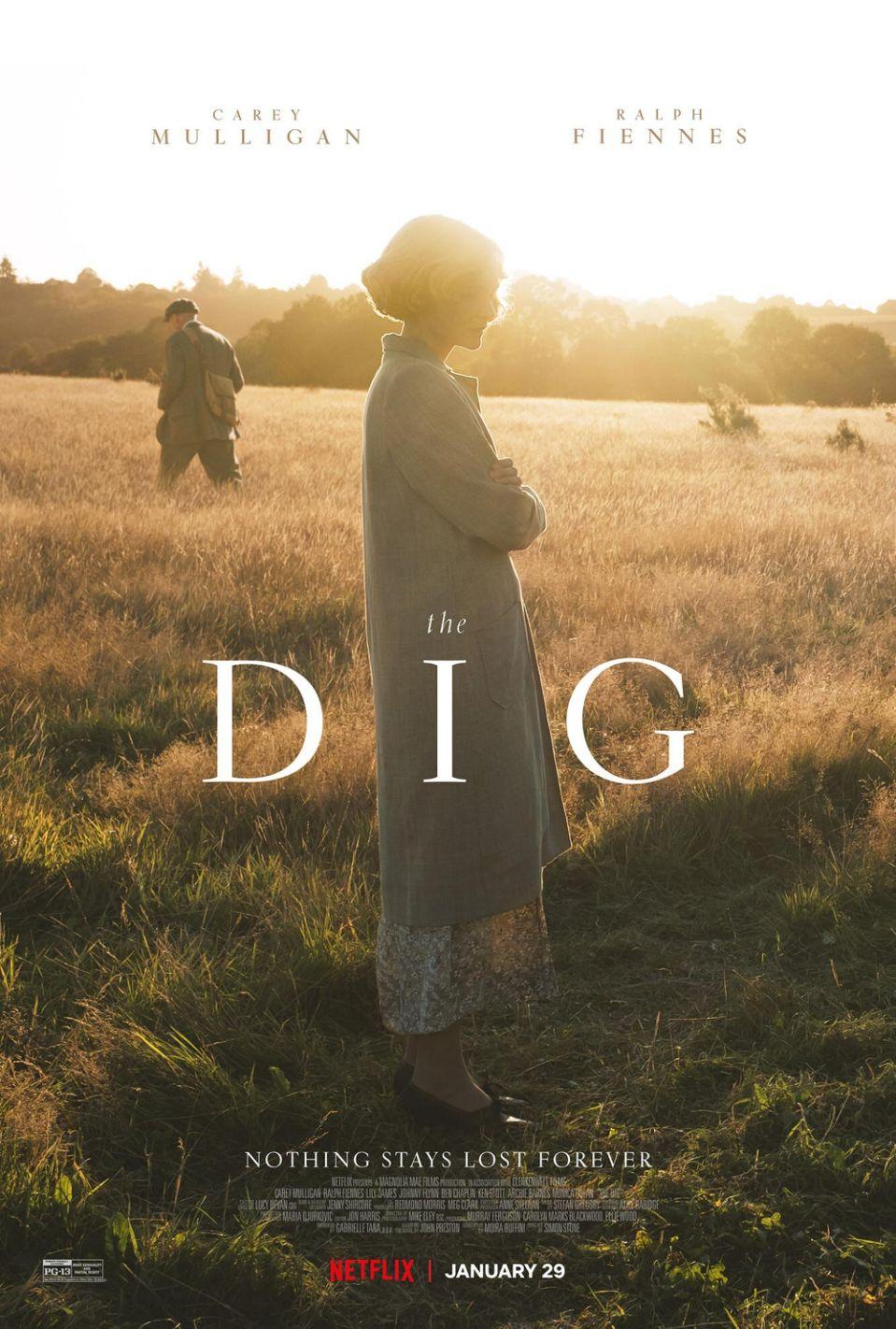 Film Drama Perang The Dig Yang Dibintangi Oleh Carey Mulligan & Ralph Fiennes